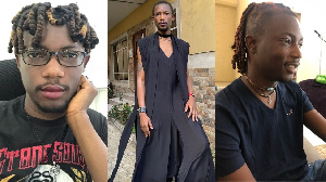 Ezra Olubi: Paystack co-founder wedding attire spark twitter reactions