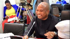 Samuel Okudzeto Ablakwa, MP, North Tongu