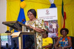 Ambassador for the Women in Cocoa and Chocolate Network, Nana Adwoa Dokua