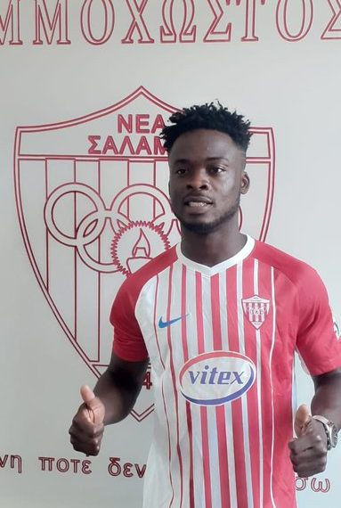 Ghanaian forward Osei Barnes finalizes move to Cypriot side Nea Salamis