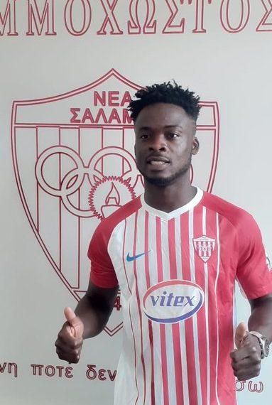 Ghanaian forward Osei Barnes finalizes move to Cypriot side Nea Salamis