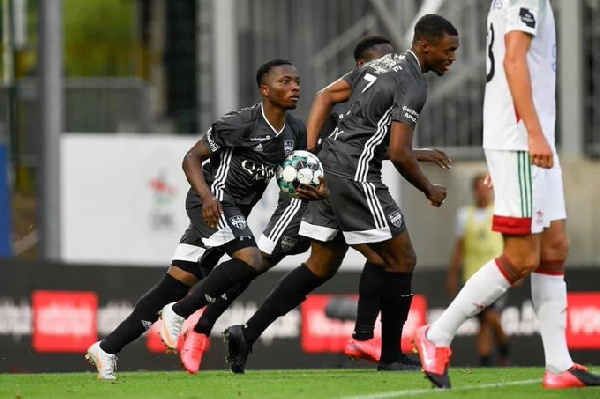 Ghanaian youngster Isaac Nuhu grabs equalizer in KAS Eupen's draw against OH Leuven