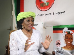 Nana Konadu Agyeman-Rawlings was the flagbearer of the NDP in the 2020 presidential elections