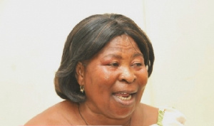 Akua Donkor, flagbearer of the Ghana Freedom Party