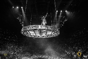 Wizkid filled the London 02 Arena in 2018