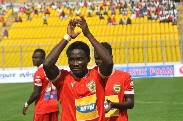 Koomson was released by Ghanaian giants Asante Kotoko following his long-term injury spell.