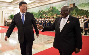 President Akufo-Addo recently travelled to China to witness the signing of a $2bn Sinohydo deal