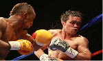 Dogbe knocked out his opponent in the 8th round