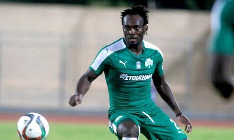 Essien joined Panathinaikos from AC Milan in 2015 and left the following year