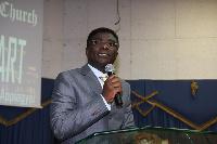 Rev. Kingsley Appiagyei, General Overseer of Trinity Baptist Church