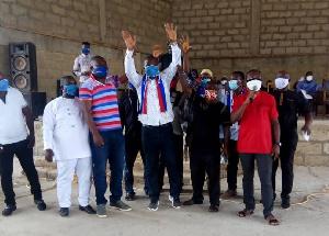 Alex Djonoboah Tetteh   Endorsement Akontombra NPP