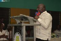 Dr. Mahamudu Bawumia, NPP Vice-Presidential Candidate
