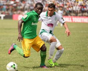 Aduana Stars midfielder, Elvis Opoku