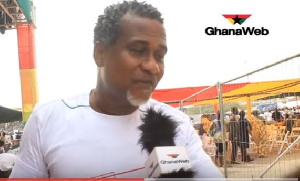 Highlife musician, Lucky Mensah