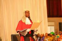 Chief Justice, Sophia A.B. Akuffo