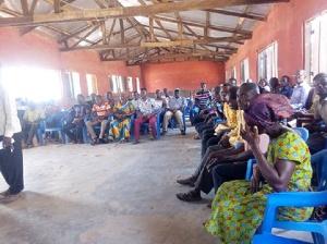 The two-day sensitisation programme in both Krachi East Municipality and Krachi Nchumuru District