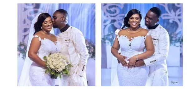 Joe Mettle and his wife tied the knot this year