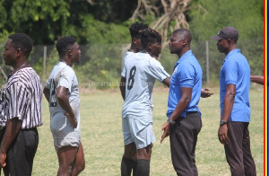 The game was part of preparations for Hearts' away trip to Karela FC