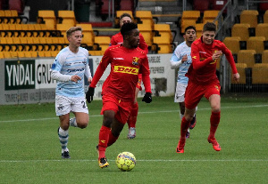Kamal Deen Sulemana in action