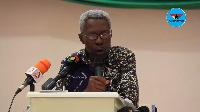 Ghana's former Ambassador to the Netherlands, Dr Tony Aidoo