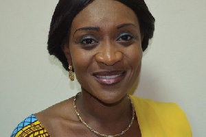 MP for Anyinam Constituency, Abena Osei-Asare