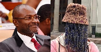 Assin Central, MP Kennedy Agyepong (l) and Anas Aremeyaw Anas (r)