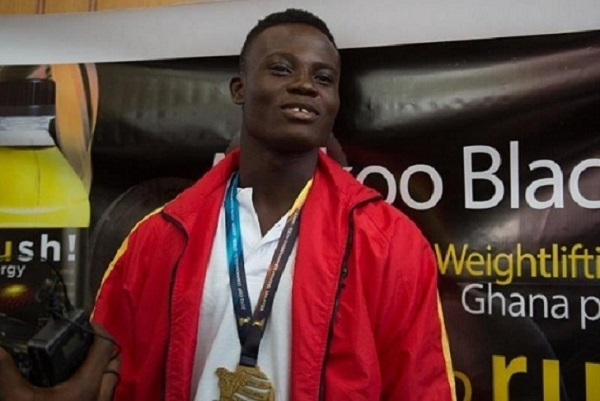 Ghanaian Weightlifter Christian Amoah ranked 4th in Commonwealth