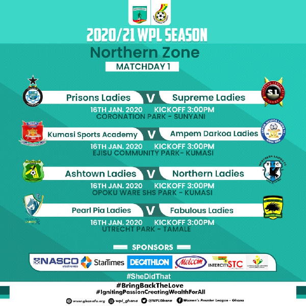 Ghana women's premier league: 2021 season resumes this weekend after 9 months break