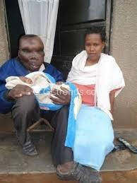 Godfred Baguma and Kate Namanda