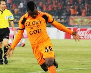 Ghana striker Dominic Adiyiah