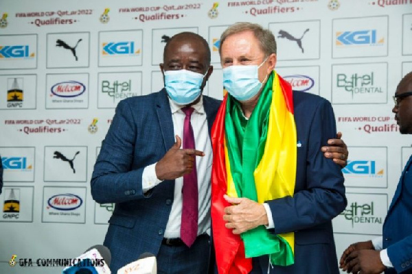 There is unity of purpose in Black Stars camp after Milo's arrival – Kurt