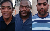 The three South African ex-police officers
