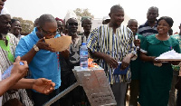 Voltic, World Vision provide water for 2 health facilities