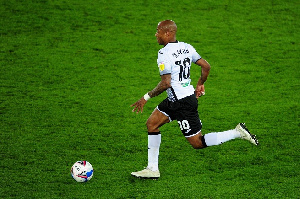 Andre Dede Ayew Against StOKE City