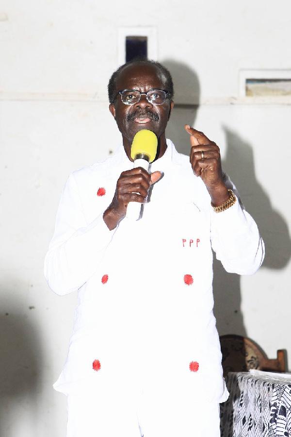 Dr. Papa Kwesi Nduom, PPP flag bearer