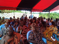 Members of the Adaklu Traditional Council