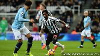 Atsu set-up a pass for Newcastle's equalizer