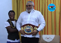 Isaac Dogboe has set his sights on unifying the Super Bantamweight division