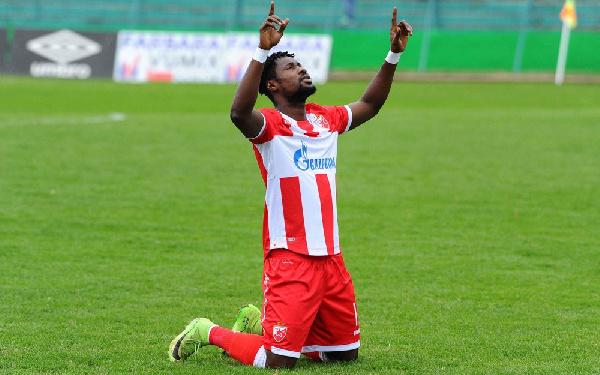 We can beat Tottenham tonight- Red Star Belgrade forward Boakye-Yiadom declares