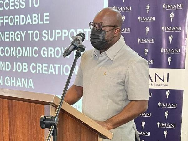 Deputy Energy Minister delivers keynote address at IMANI-GIZ Dialogue Series