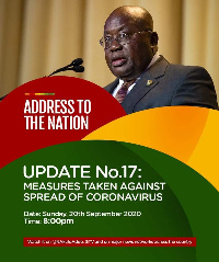 President Akufo-Addo will address Ghanaians this evening