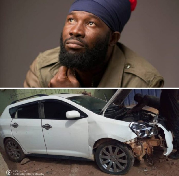 REDfyah was involved in an accident
