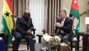 Akufo Addo And Jordan King