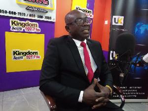 MP for Aowin, Oscar Ofori Larbi
