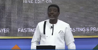 General Overseer of Perez Chapel Bishop Charles Agyinasare