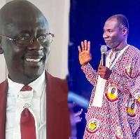 Yaw Adomako Baafi and Prophet Badu Kobi