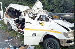 Eight young Ghanaian footballers killed in ghastly bus accident