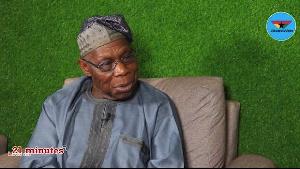 Olusegun Mathew Okikiola Aremu Obasanjo was speaking on '21 minutes with KKB'