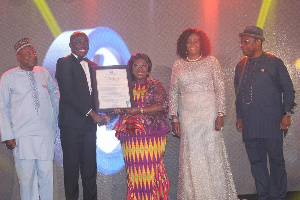 President Akufo-Addo was awarded for his leadership in declaring 'The Year of Return'
