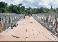 The repaired bridge